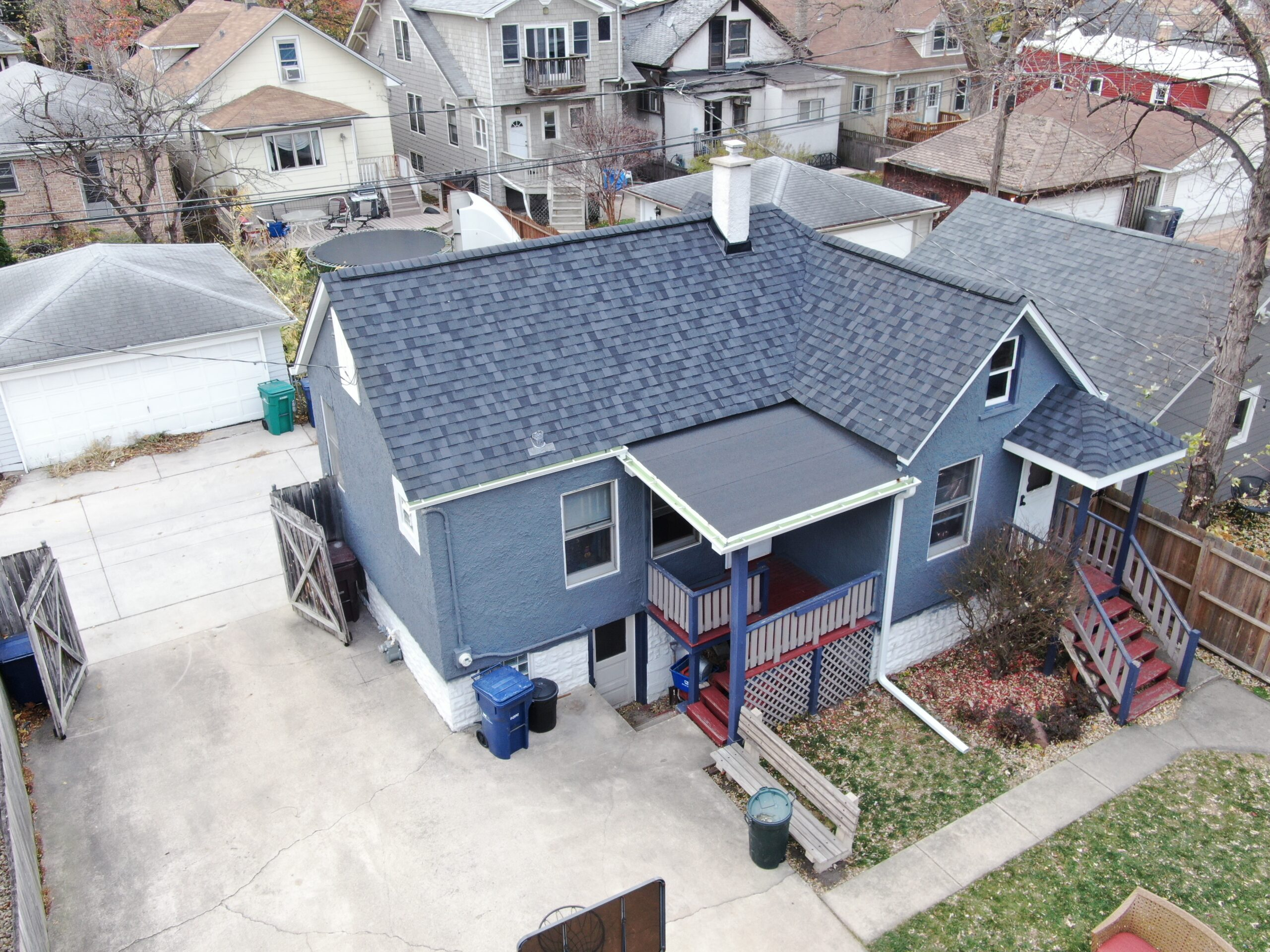 chicago roofing job
